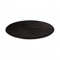 Coupe bord Honeycomb Black 21 cm