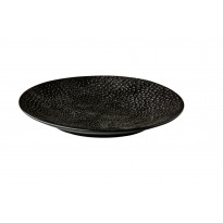 Coupe bord Honeycomb Black 16 cm