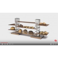 Rosseto's Modular Buffet Risers & Display System